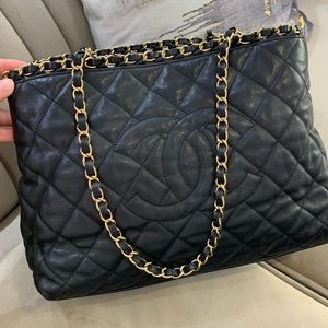 Coming soon - Chanel tote with chain around